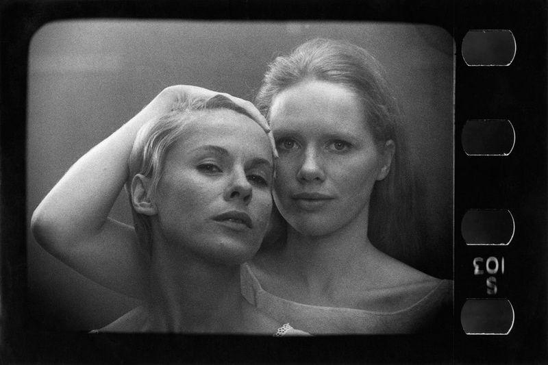 """Kadras iš I. Bergmano filmo """"Persona"""". """"Skalvijos"""" kino centro nuotr."""
