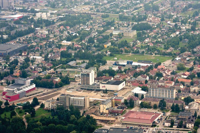 Marijampolės panorama. Herkaus Milaševičiaus nuotr.
