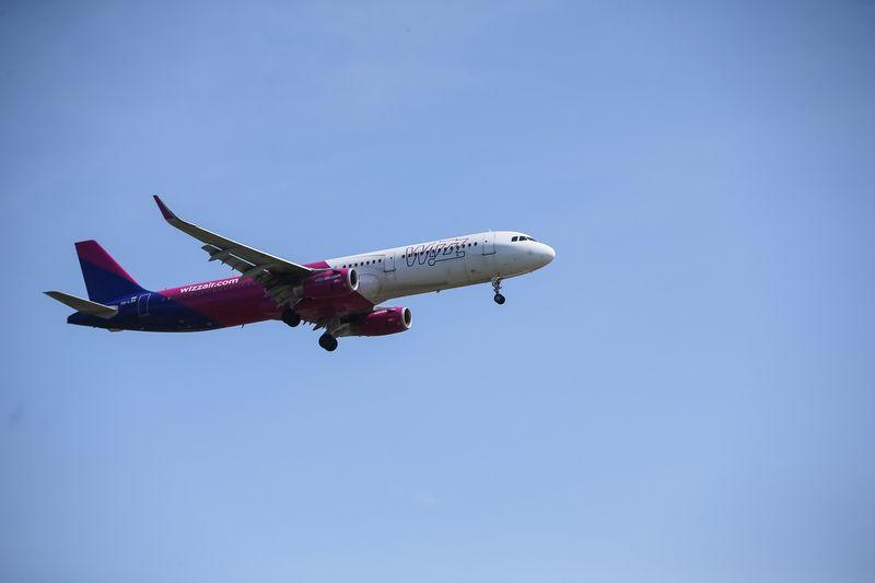 """Wizzair"" lėktuvas. Vladimiro Ivanovo (VŽ) nuotr."