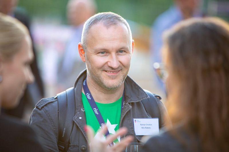 """Įmonė """"Logistikos inovacijos"""" direktorius Roman A. Drokov."""