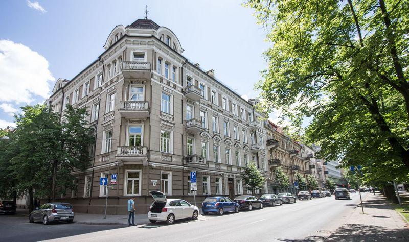 Pagrindinis Valstybinės mokesčių inspekcijos  biuras Vilniuje, Vasario 16-osios g. 14. Jurgitos Grigelytės (VŽ) nuotr.
