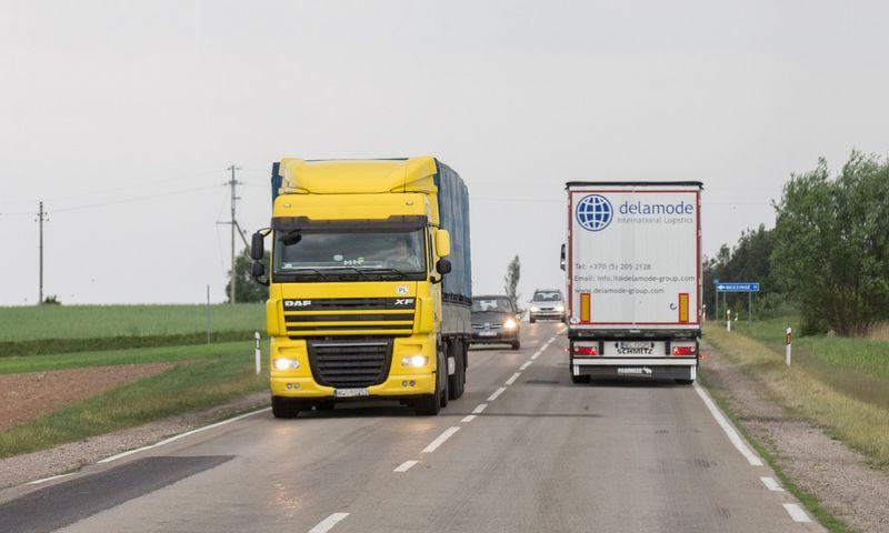 VMI keliose Lietuvos apskrityse rengia plataus masto transporto patikrą. Juditos Grigelytės (VŽ) nuotr.