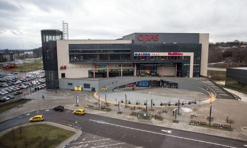 """Stambiausias šių metų sandoris – prekybos centro """"Ozas"""" Vilniuje pardavimas. Juditos Grigelytės (VŽ) nuotr."""