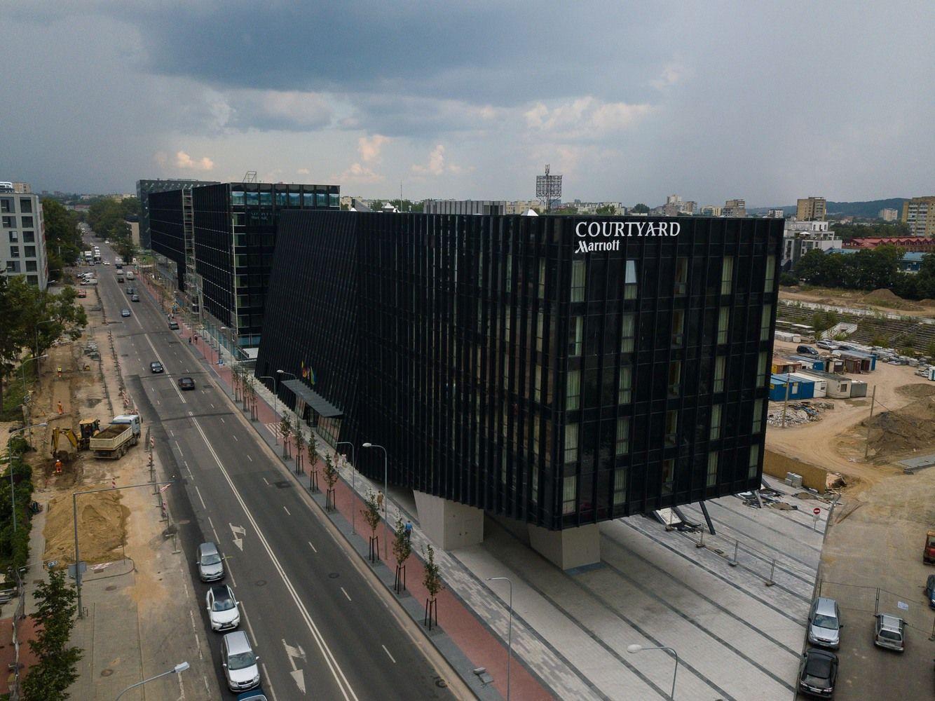 """""""Hanner"""" BSW verslo centras turės savo saulės elektrinę"""