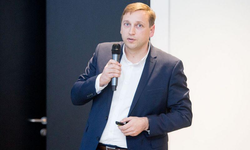 """Evaldas Remeikis, UAB """"NEO Finance"""" valdybos pirmininkas. Juditos Grigelytės (VŽ) nuotr."""