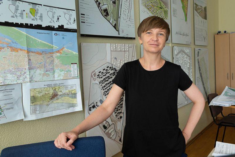 Mantė Černiūtė-Amšiejienė, Klaipėdos savivaldybės Urbanistikos skyriaus vedėja. Algimanto Kalavaičio nuotr.
