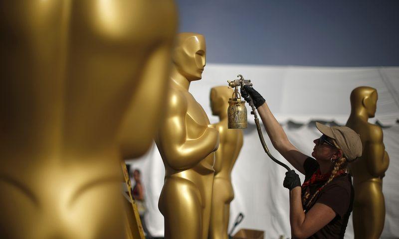 """Šiemet """"Oskarų"""" reitingai buvo žemiausi per visą istoriją. Lucy Nicholson (""""Reuters""""/""""Scanpix"""") nuotr."""