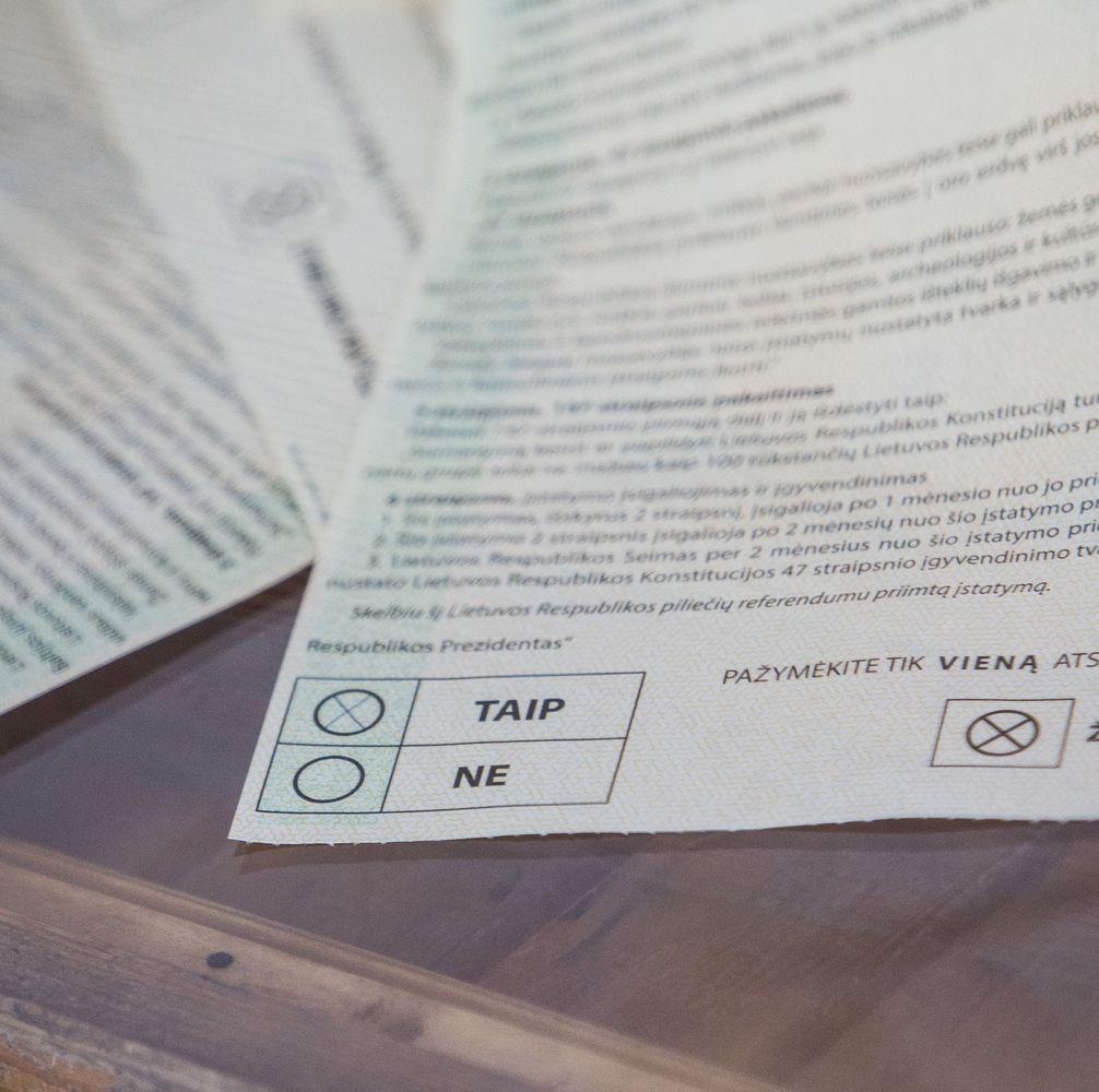 Referendume dėl pilietybės dalyvautų 57% gyventojų, už būtų 71%
