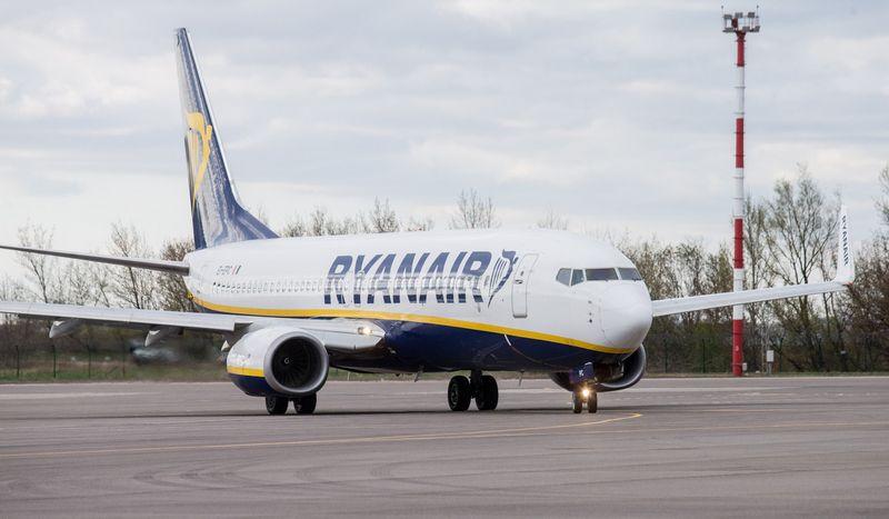 """Šįkart """"Ryanair"""" streikai paveiks vos vieną reisą iš Vilniaus oro uosto. Juditos Grigelytės (VŽ) nuotr."""