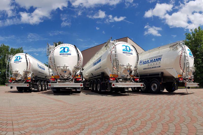 """""""Hegelmann Transporte"""" žengia į naują sritį – gabens birius, skystus ir nestandartinius krovinius. Įmonės nuotr."""