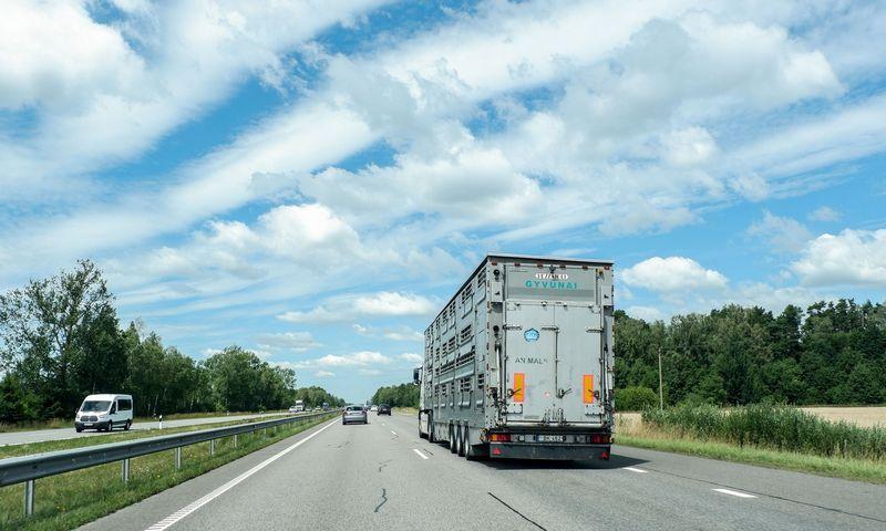 Keičiama kelių mokesčių surinkimo tvarka neišvengiamai apkraus vietinius vežėjus. Juditos Grigelytės (VŽ) nuotr.