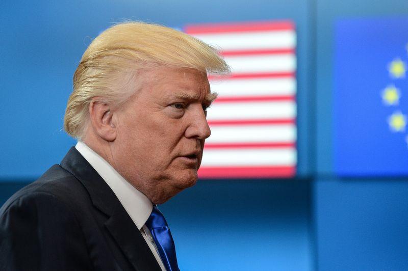 """JAV prezidentas Donaldas Trumpas. Aleksejaus Vitvitskio (""""Reuters"""" / """"Scanpix"""") nuotr."""