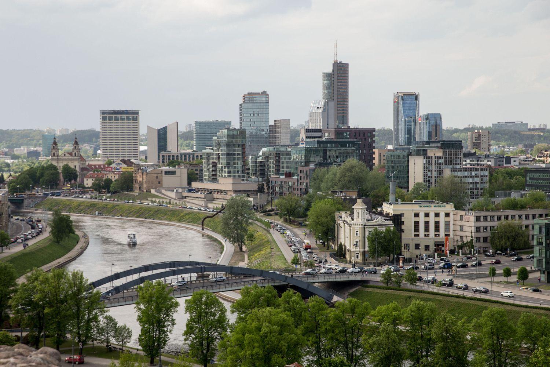 Iki 2021-ųjų Vilniuje suplanuota 307.000 kv. m biurų