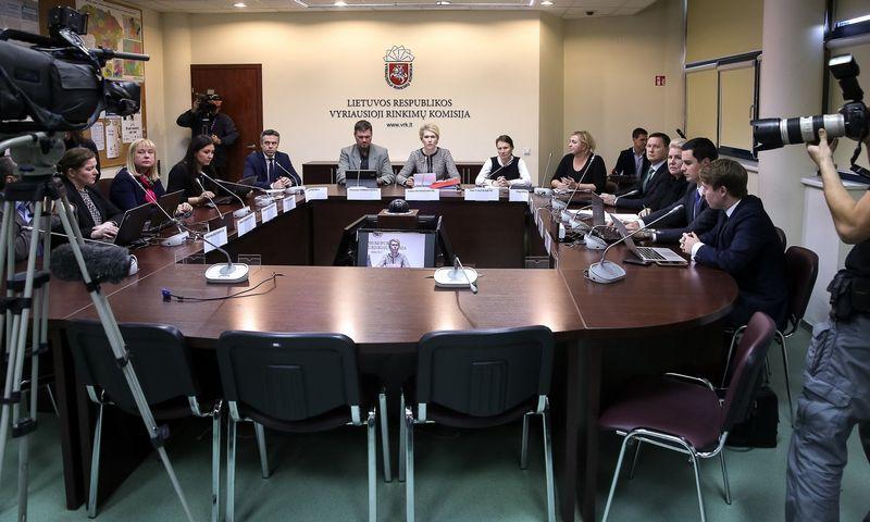 VRK posėdis.  Vladimiro Ivanovo (VŽ) nuotr.