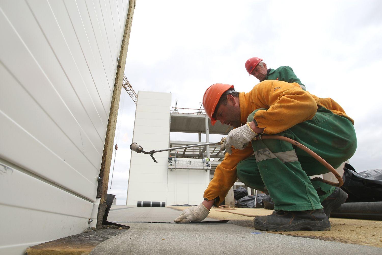 Statybos darbų apimtis išaugo 17,5%