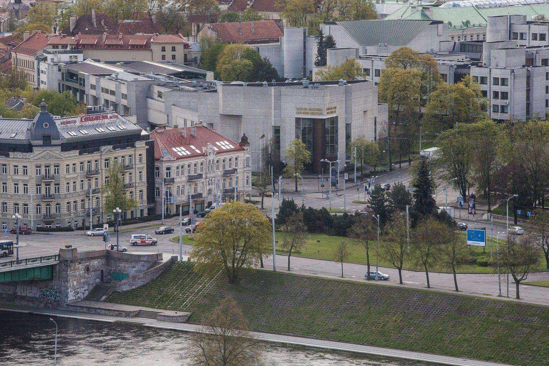 Už netinkamą Kongresų rūmų rekonstrukcijos konkursą – 72.000 Eur bauda