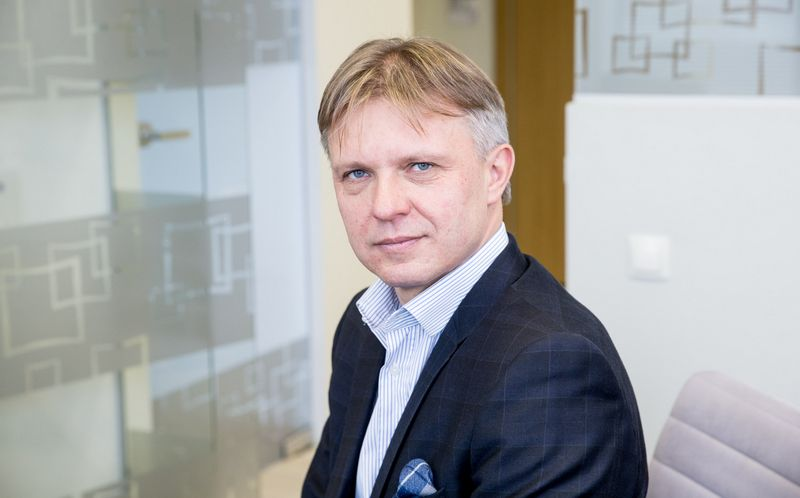 """Gintautas Mažeika, verslo konsultacijų UAB """"Mažeika ir partneriai"""" vadovaujantis partneris. Juditos Grigelytės (VŽ) nuotr."""
