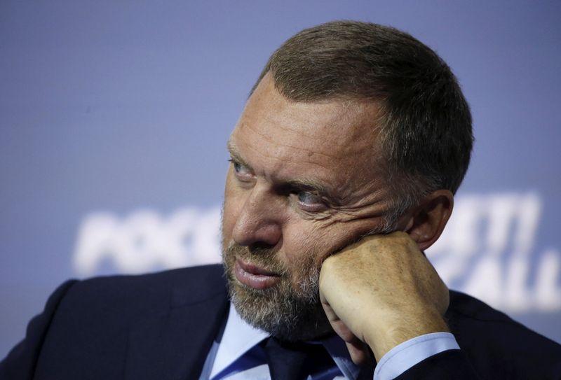 "Rusijos oligarchas Olegas Deripaska. Sergejaus Karpukhino (""Reuters"" / ""Scanpix"") nuotr."