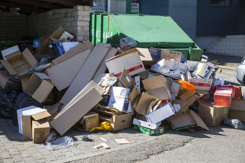 Kiek atliekų tilps į ministro kiemą?