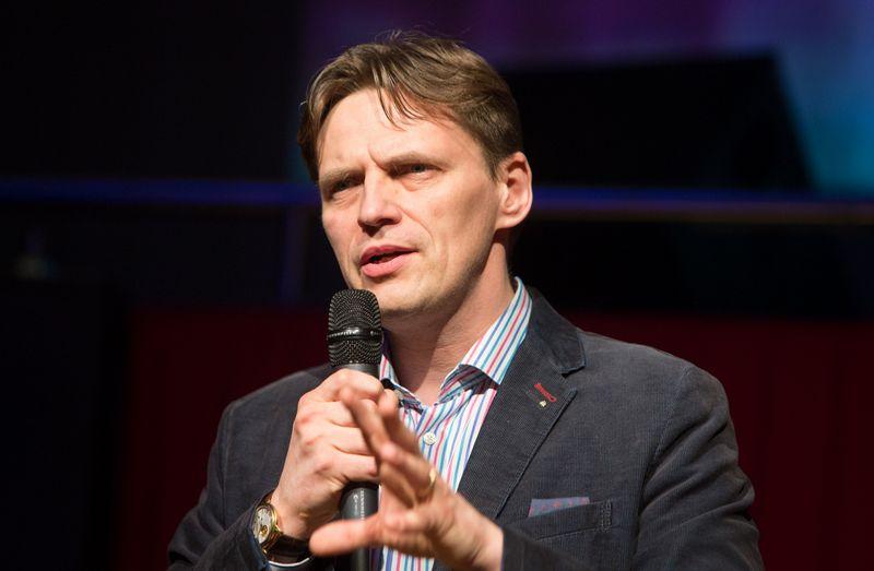 """Mindaugas Glodas teigia, kad """"Zedge"""" ketina plėsti savo asortimentą ir dalį darbų atlikti Lietuvoje, bet detalių dar nepateikia. Juditos Grigelytės (VŽ) nuotr."""