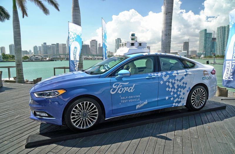 """""""Ford"""" kuriamas savavaldis automobilis. """"Ford Motor Co."""" nuotr."""