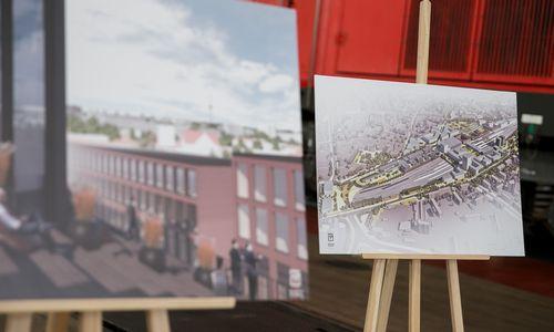 Rengia detalųjį planą Vilniaus stoties teritorijai gaivinti