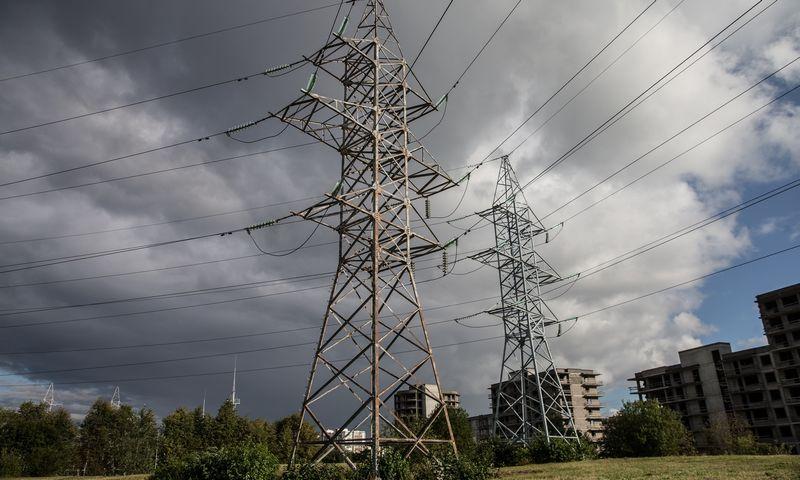 """Elektros kainos, kai bus taisoma jungtis """"NordBalt"""", gali dar šoktelėti. Juditos Grigelytės (VŽ) nuotr."""