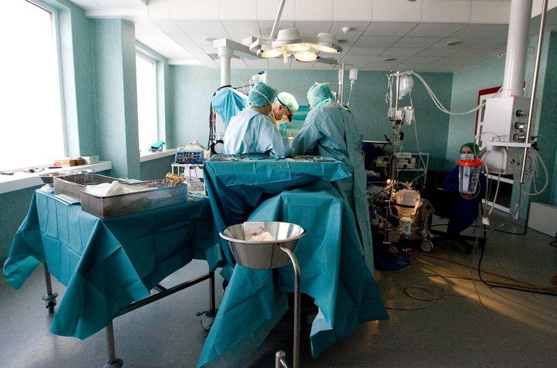 VU ligoninės Santariškių klinikos Širdies chirurgijos centras. Juditos Grigelytės (VŽ) nuotr.