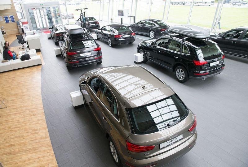 "UAB ""Moller auto"" ""Audi"" automobilių centras. Juditos Grigelytės (VŽ)  nuotr."