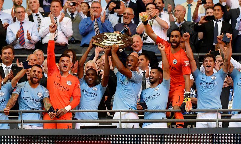 """""""Manchester City"""" klubas į pasaulio čempionatą delegavo daugiausiai žaidėjų, bet jam tai ir kainavo daugiausiai. """"Reuters"""" / """"Scanpix"""" nuotr."""