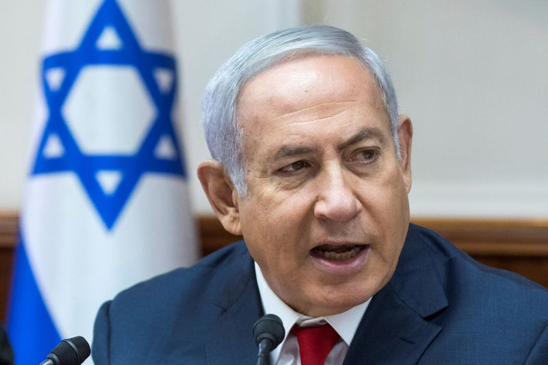 Benjaminas Netanyahu. Jimo Hollanderio (Reuters/Scanpix) nuotr.