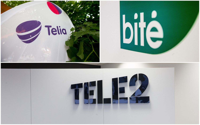 """""""Telia"""" ir """"Bitė"""" skundžia """"Tele2"""" reklamas"""