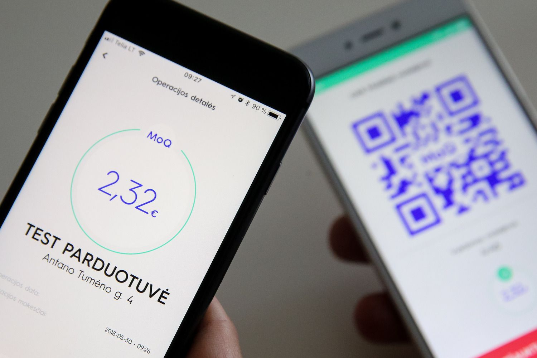 """Piniginė telefone: """"MoQ beta"""" gali atsisiųsti išmaniųjų turėtojai"""