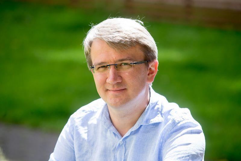 """Martynas Nikolajevas, atsiliepimų apie grožio produktus platformą kuriančios bendrovės """"Veleza"""" vykdomasis direktorius. Vladimiro Ivanovo (VŽ) nuotr."""