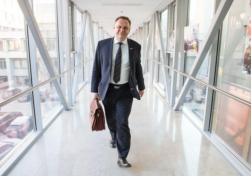 Valdas Sutkus, Lietuvos verslo konfederacijos pirmininkas. Juditos Grigelytės nuotr.