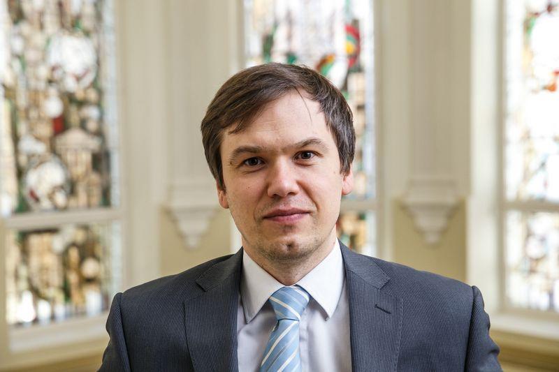 Vytautas Valvonis, Lietuvos banko Priežiūros tarnybos direktorius.  Vladimiro Ivanovo (VŽ) nuotr.