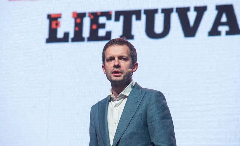 Žurnalistas Andrius Tapinas. Juditos Grigelytės (VŽ) nuotr.