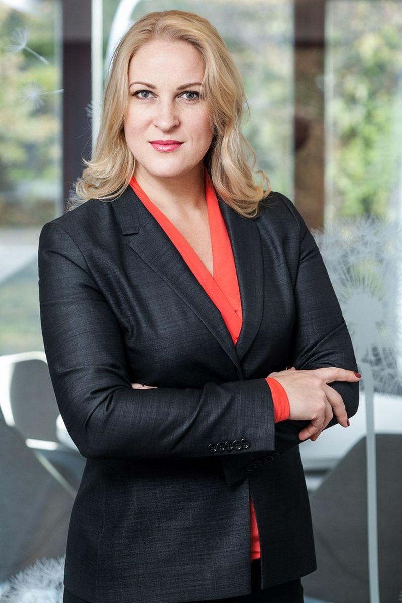 """Advokatų kontoros """"Jurex"""" vadovaujanti partnerė, advokatė Jurgita Judickienė."""