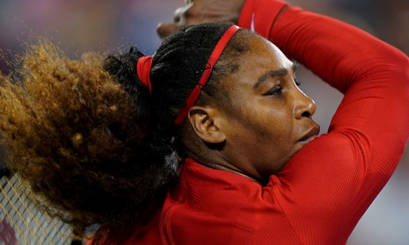 """Tyrimų duomenimis, Serena Williams priklauso 1% įžymybių, kuriomis vartotojai pasitiki ir vertina labiausiai. Aarono Dosterio (""""USA TODAY Sports""""/""""Scanpix"""") nuotr."""