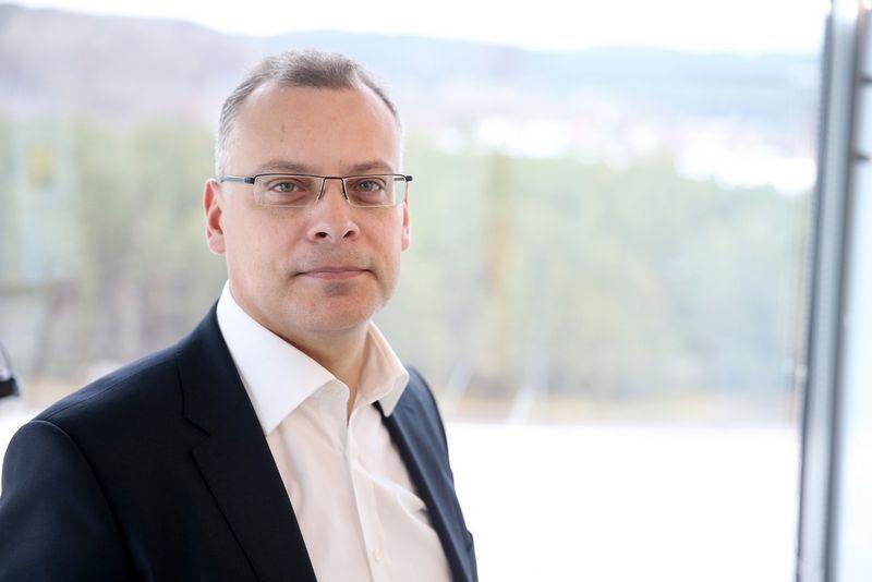 """Andrius Barštys, """"Capitalica Asset Management"""" generalinis direktorius. Bendrovės nuotr."""