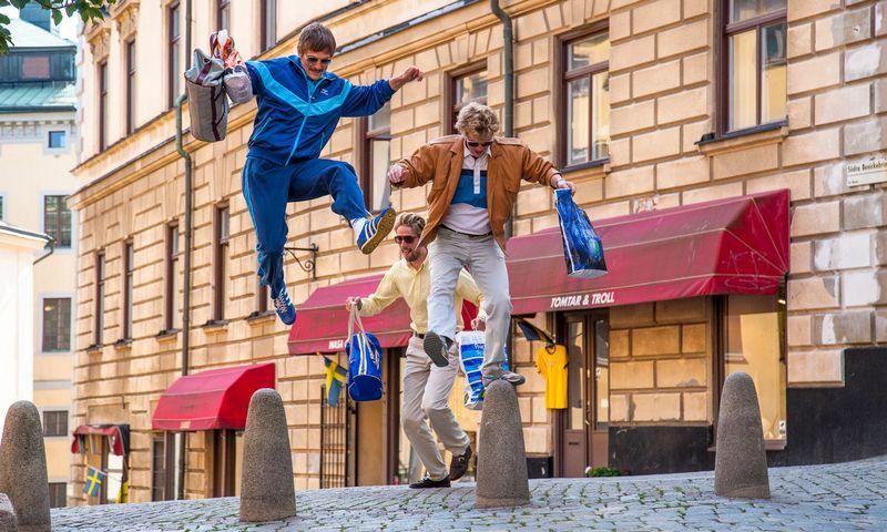 """Filme """"Karštakošiai"""" (rež. Jaakas Kilmi) pasakojama apie jaunimą pirmaisiais atkurtos Estijos nepriklausomybės metais. Festivalio """"Baltijos banga"""" nuotr."""
