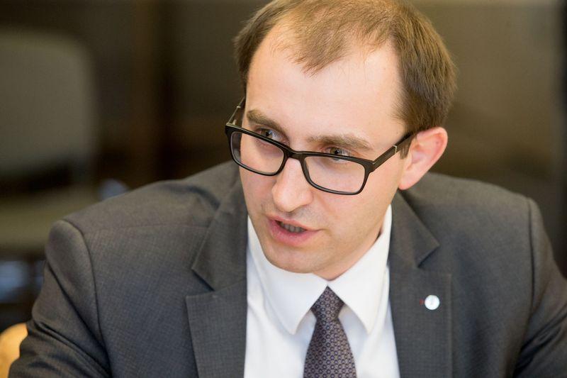 Raimondas Andrijauskas, Valstybinės duomenų apsaugos inspekcijos (VDAI) direktorius. Juditos Grigelytės (VŽ) nuotr.