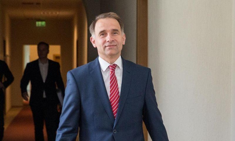 Susisiekimo ministras Rokas Masiulis. Juditos Grigelytės (VŽ) nuotr.