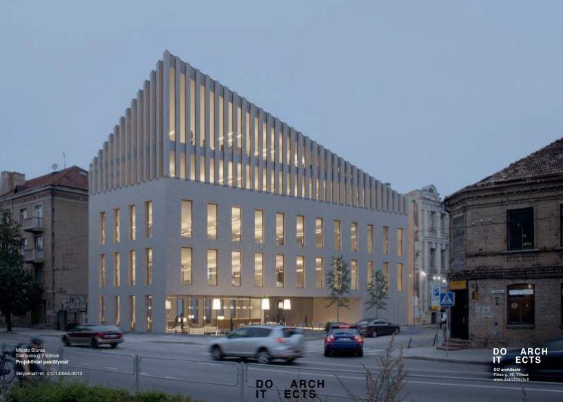 Į nedidelį verslo centrą Vilniaus Naujamiestyje investuoja 3 mln. Eur