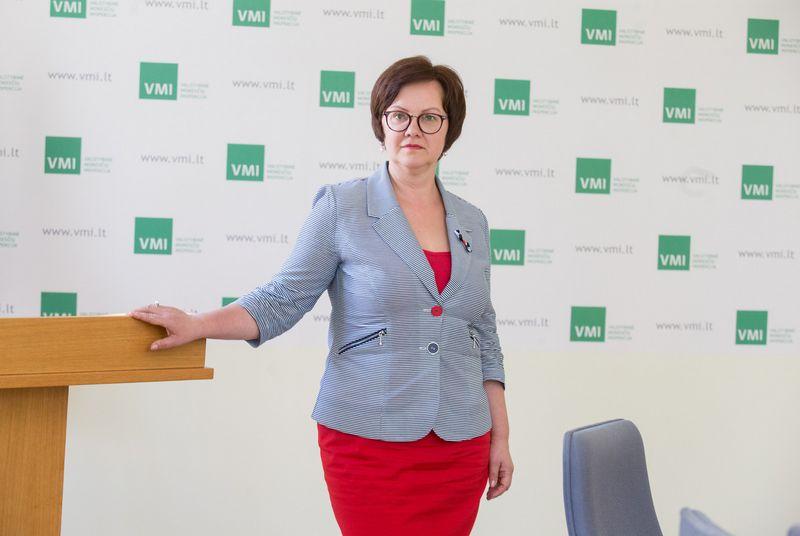 Valstybinės mokesčių inspekcijos vadovė Edita Janušienė. Juditos Grigelytės (VŽ) nuotr.