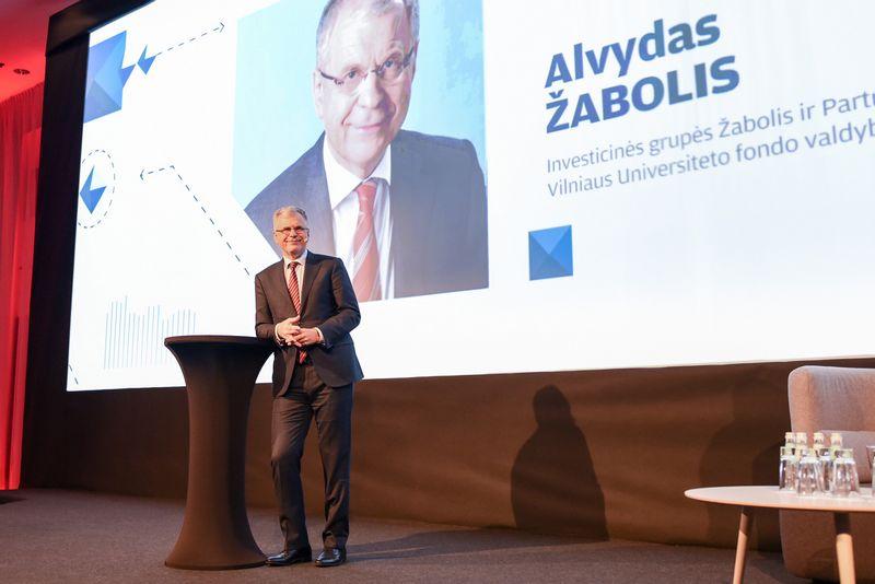 """Alvydas Žabolis. """"Verslo žinių"""" organizuojama konferencija """"Verslas 2018"""". Ryčio Galadausko (VŽ) nuotr."""