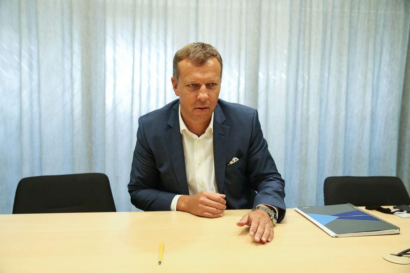 """Algimantas Medžiaušis, Kauno UAB """"Kelprojektas"""" generalinis direktorius. Vladimiro Ivanovo (VŽ) nuotr."""