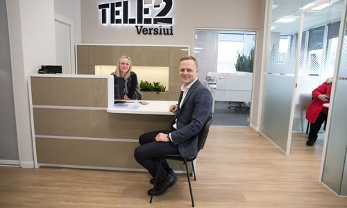 """Socialiniuose tinkluose""""Tele2"""" rūpinsis dvi agentūros"""