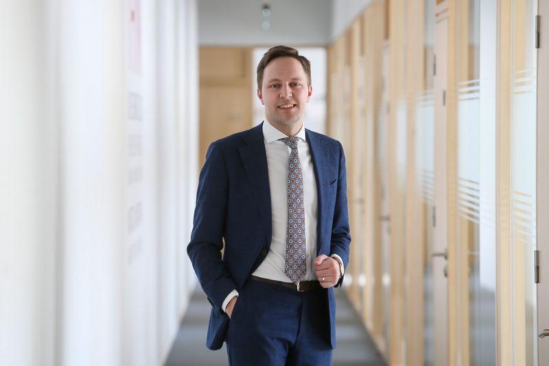 """Tomas Krakauskas, """"Girteka Logistics"""" Investicijų valdymo direktorius. Vladimiro Ivanovo (VŽ) nuotr."""
