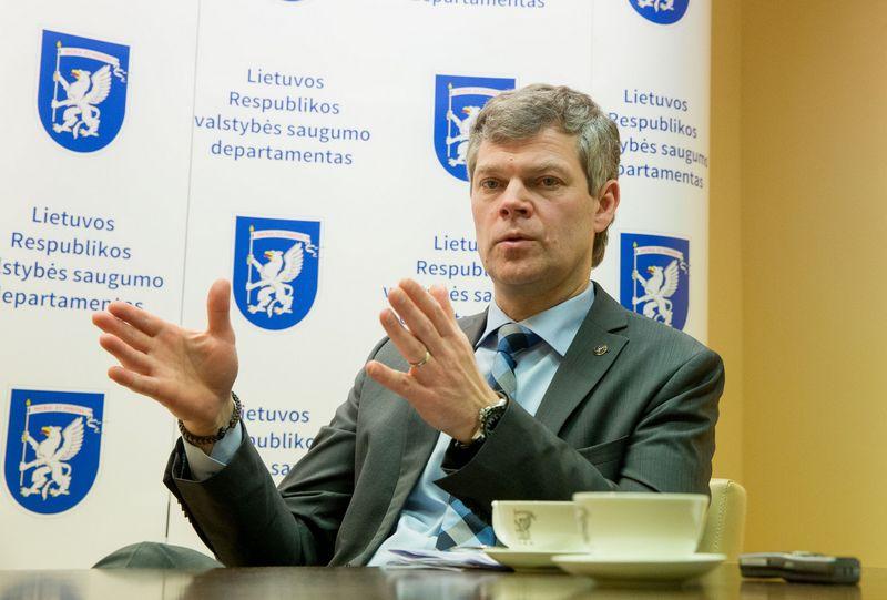 Valstybės saugumo departamento direktorius Darius Jauniškis. Juditos Grigelytės (VŽ) nuotr.